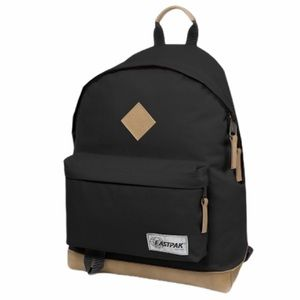 EASTPAK Wyoming Shoulder Black Bookbag Leather NWT